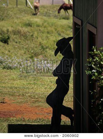 Cowboy Silouhette