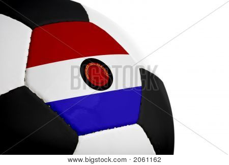Paraguayan Flag - Football