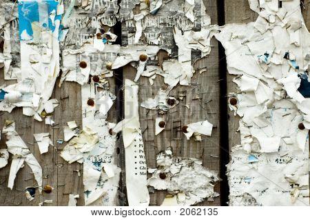 Grunge Noticeboard