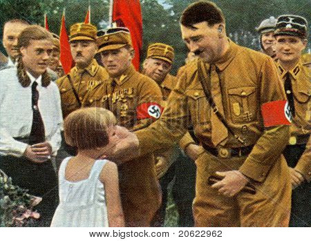 Adolf Hitler And Youngest German
