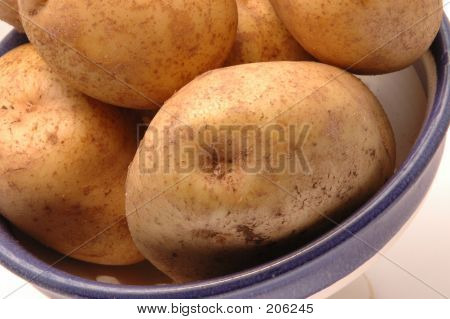 Potatoes In Bowl 3 Horizontal