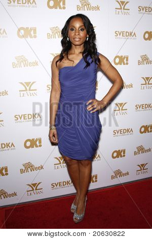WEST HOLLYWOOD - FEB 25:  Anika Noni Rose arriving at the OK! Magazine and BritWeek celebrate the Oscars party held at the London Hotel in West Hollywood, California on February 11, 2011.