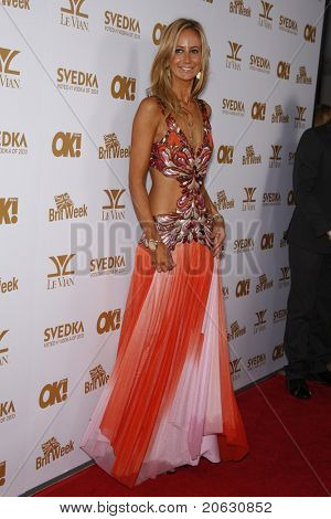 WEST HOLLYWOOD - FEB 25:  Lady Victoria Hervey arriving at the OK! Magazine and BritWeek celebrate the Oscars party held at the London Hotel in West Hollywood, California on February 11, 2011.