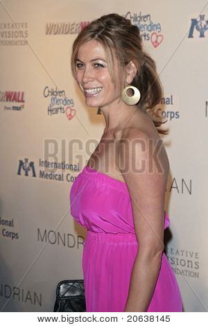 LOS ANGELES - FEB 18:  Sonya Walger arriving at the Children Mending Hearts Gala held at the House Of Blues in Hollywood, Los Angeles, California on February 18, 2009.