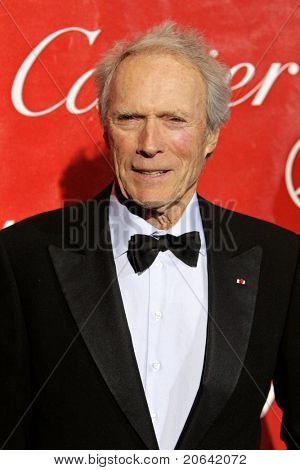 PALM SPRINGS, CA - JAN 6:  Clint Eastwood at the 2010 Palm Springs International Film Festival gala held at the Palm Springs Convention Center on January 6, 2010 in Palm Springs, California.