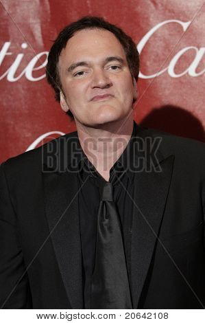 PALM SPRINGS, CA - JAN 6:  Quentin Tarantino at the 2010 Palm Springs International Film Festival gala held at the Palm Springs Convention Center on January 6, 2010 in Palm Springs, California.