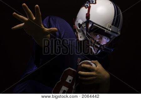 Youth Football Player