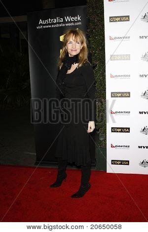 LOS ANGELES - JAN 22: Rebecca De Mornay at the 2011 G'Day USA Australia Week LA Black Tie Gala at the Hollywood Palladium in Los Angeles, California on  January 22, 2011.