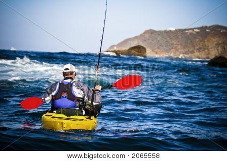 Kayaker Fisherman