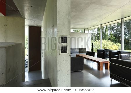 Architecture of Attilio Panzeri, Modern house interior