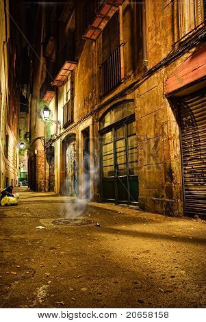 Barcelona mystik night