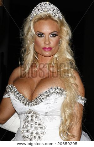LOS ANGELES - JUN 3: Coco Austin at a ceremony where Ice-T and Coco renew their wedding vows at the W Hotel in Los Angeles, California on June 3, 2011.