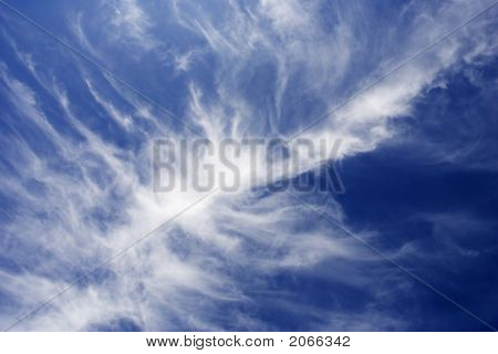 Sky And Dramatic Clouds