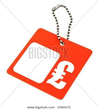 Price Tag Gbp Symbol