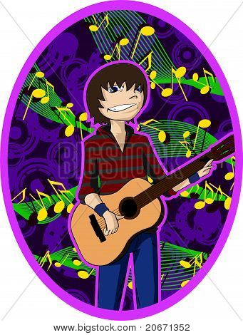 Young Guitarist.eps