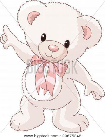 Teddy Bear Pointing