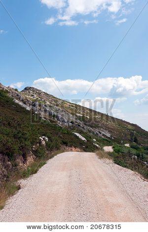 Mountain  Gravel Road
