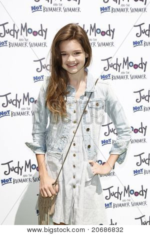 LOS ANGELES - JUN 4: Ciara Bravo at the premiere of Relativity Media's 'Judy Moody And The NOT Bummer Summer' held at ArcLight Hollywood in Los Angeles, California on June 4, 2011.