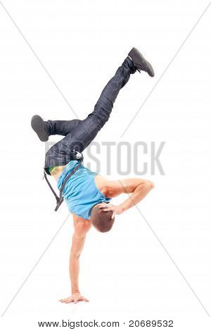 Cool Breakdance Style Dancer Posing