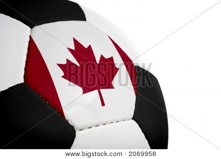 Canadian Flag - Football