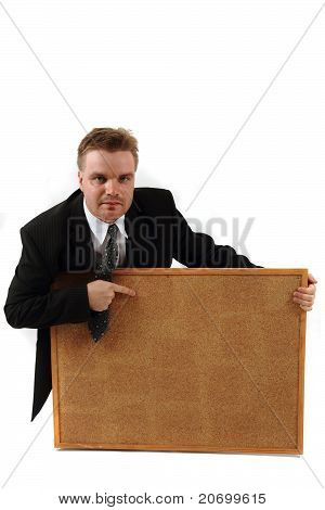 Manager And Cork Board