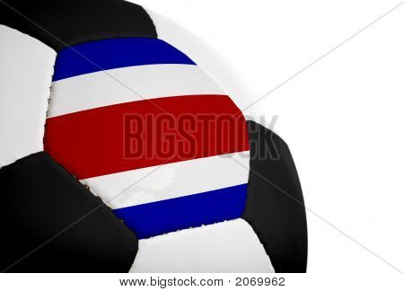 Costa Rican Flag - Football