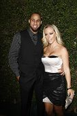 WEST HOLLYWOOD, CA  - JAN 5:  Kendra Wilkinson and husband Hank Baskett at the COVERGIRL 50th Annive
