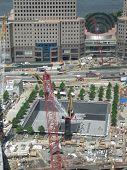Постер, плакат: Башня Свободы площадь под строительство в городе Нью Йорке