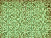 Green Vintage Wallpaper