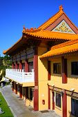 stock photo of hacienda  - Landmark Buddhist Temple taken in Hacienda Heights - JPG