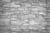 Stone Wall Background poster