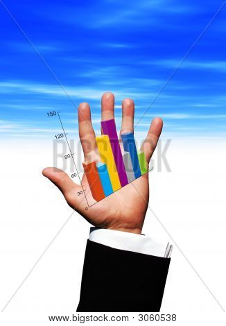 Gráfico de mão