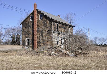 Old Farmhouse In Eastern Pennsylvania