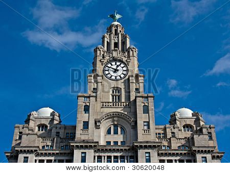 Liver Buildings, Liverpool, UK