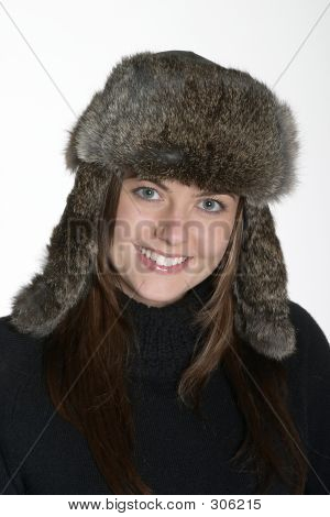 Woman In Fur Hat