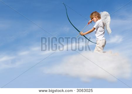 Cupid Firing Love Arrow