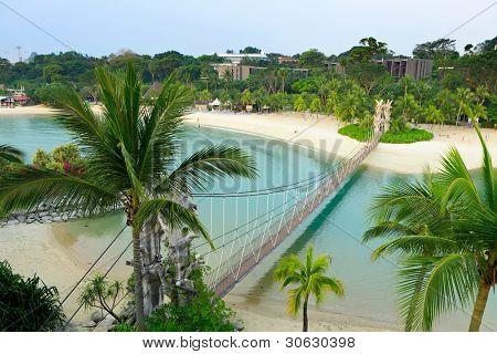 landscape in sentosa, Singapore