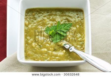 Fresh Split Pea Soup