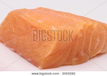 Raw Wild Salmon Chunk
