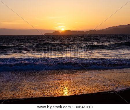 Sunset From Baker Beach