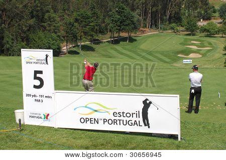 European Tour - Estoril Open De Portugal 2010, Penha Longa Gc, Gary Clark (eng)