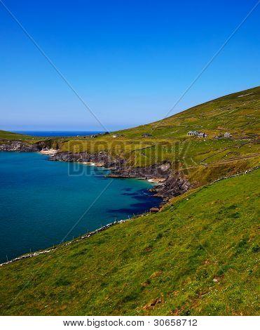 Coumeenole Beach And Coast Of Dingle Peninsula
