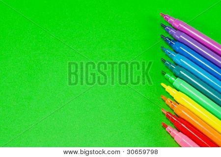 Colorful Felt Pens