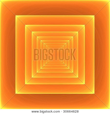 Amazing, Beautiful Picture Squares Receding Into Infinity. Abstract Background For Your Project Or A