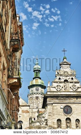 Bernardine Church In Lviv