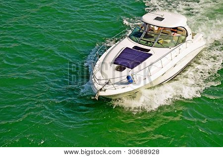 UpscaleSport Fishing Boat