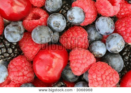 Summer Berries Background