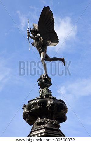 Estátua de Eros em Piccadilly Circus