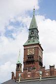 The Architecturally Stunning Copenhagen City Hall Tower. poster