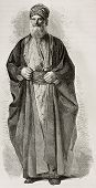 foto of mesopotamia  - Old Jew from Babylonia - JPG